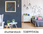 living room with the view of a... | Shutterstock . vector #538995436