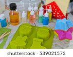 soap making  the process of... | Shutterstock . vector #539021572