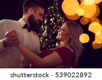 beautiful  young couple in love ... | Shutterstock . vector #539022892