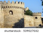 ancient castle palace in baku.... | Shutterstock . vector #539027032