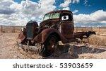 Rustbucket Truck Abandoned In...