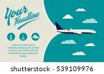 tourism  travel agency banner.... | Shutterstock .eps vector #539109976