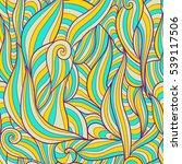 seamless vector pattern... | Shutterstock .eps vector #539117506