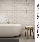 bathroom design modern   loft   ... | Shutterstock . vector #539121256
