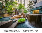 fountains at thomas polk park ... | Shutterstock . vector #539129872
