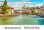 lucerne  switzerland  ... | Shutterstock . vector #539132356
