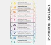 vector lines infographics....   Shutterstock .eps vector #539133676