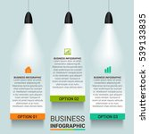 vector infographics. template... | Shutterstock .eps vector #539133835