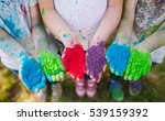 hands   palms of young people... | Shutterstock . vector #539159392