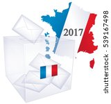2017 french elections.... | Shutterstock .eps vector #539167498