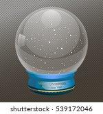 snow globe vector illustration  ... | Shutterstock .eps vector #539172046