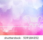 abstract creative concept... | Shutterstock .eps vector #539184352
