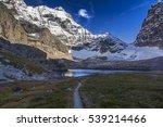 scenic distant landscape view... | Shutterstock . vector #539214466