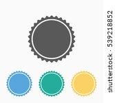 bottle cap icon | Shutterstock .eps vector #539218852