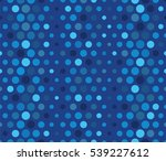 blue spotted texture. global... | Shutterstock .eps vector #539227612
