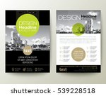 poster flyer pamphlet brochure... | Shutterstock .eps vector #539228518