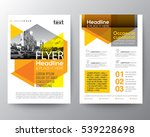abstract yellow geometric...   Shutterstock .eps vector #539228698