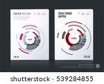 business vector set. brochure... | Shutterstock .eps vector #539284855