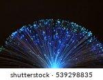 fibre optic lamp glowing   Shutterstock . vector #539298835