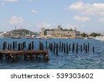 bodrum castle in aegean coast... | Shutterstock . vector #539303602