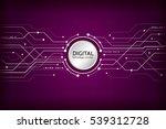 hi tech computer digital...