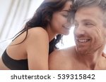 sensual young couple together... | Shutterstock . vector #539315842