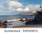 The Beach And Rocks In Hawaii ...