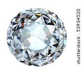 round brilliant cut diamond... | Shutterstock . vector #53934520