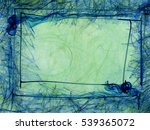 abstract style frozen... | Shutterstock . vector #539365072