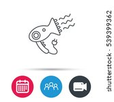 hairdryer icon. electronic...   Shutterstock .eps vector #539399362