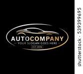 modern auto company logo design.... | Shutterstock .eps vector #539399695