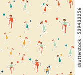 seamless pattern with figures... | Shutterstock .eps vector #539433256
