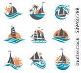 Collection Of Sailboat And...