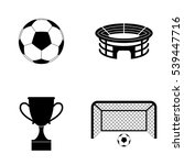 football icons  vector set | Shutterstock .eps vector #539447716