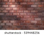 vector brick wall background... | Shutterstock .eps vector #539448256