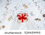 female hands withbeautiful... | Shutterstock . vector #539459995