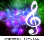 musical abstract colorful... | Shutterstock . vector #539475232