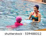 healthy family mother teaching... | Shutterstock . vector #539488312