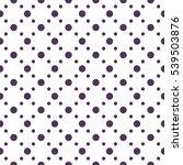 seamless polka dots pattern... | Shutterstock .eps vector #539503876