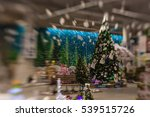 christmas tree background and... | Shutterstock . vector #539515726