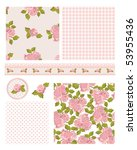 classic design elements for... | Shutterstock .eps vector #53955436