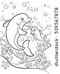 Coloring Pages. Marine Wild...