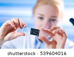 woman science assistant in... | Shutterstock . vector #539604016