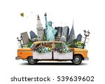 new york  | Shutterstock . vector #539639602