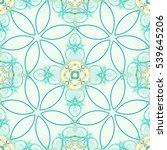 seamless fractal based tile...   Shutterstock . vector #539645206