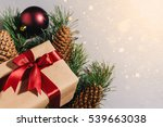 new year's gift  toy  card ... | Shutterstock . vector #539663038