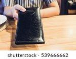 customers get bill and receipt... | Shutterstock . vector #539666662