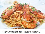 Mediterranean Seafood   Pasta...