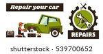 horizontal banner template on... | Shutterstock .eps vector #539700652