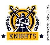 knight logo. warrior in the...